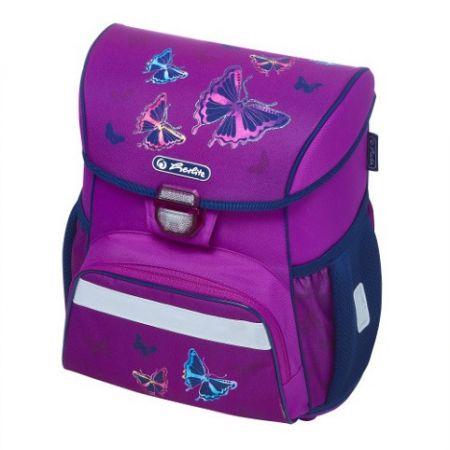 Školní taška Loop Třpytivý motýl - aktovta / batoh školní (Herlitz)