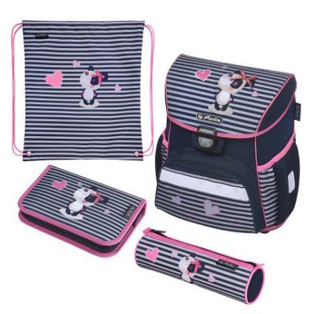 Školní taška Loop Panda-vybavená - aktovta / batoh školní (Herlitz)