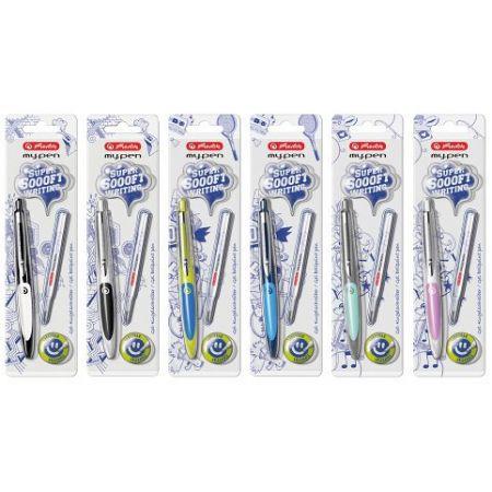 Kuličkové pero my.pen, mix barev/ na blistru (Herlitz)