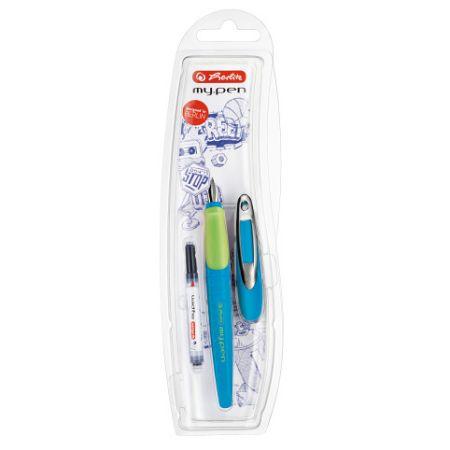 Bombičkové pero my.pen M, modro-zelené/ na blistru (Herlitz)