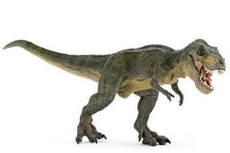 PAPO Tyrannosaurus REX zelený běžící