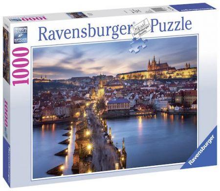 Puzzle Praha v noci 1000 dílků