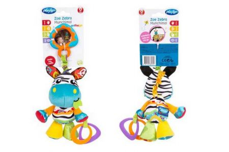 Playgro Závěsná zebra