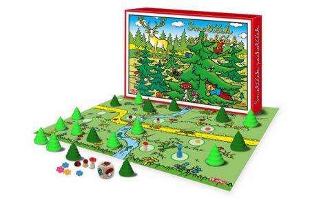 EFKO Smolíček společenská hra s dřevěnými figurkami
