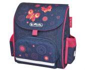 Předškolní taška-batůžek Mini Softbag SB Motýl HERLITZ (batoh pro předškoláky)