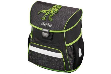 Školní aktovka LOOP Dino zelený HERLITZ (školní taška batoh)