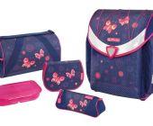 Školní aktovkový set FLEXI Plus Motýlí sny - VYBAVENÝ HERLITZ (batohový školní taška)