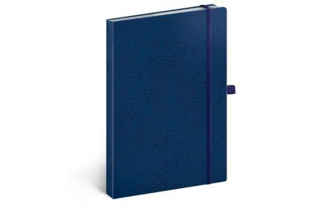 Notes Vivella Classic modrý/modrý, tečkovaný, 15 x 21 cm / A-5985