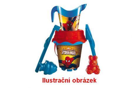 Pískový set Spiderman s konvičkou