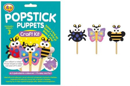 Popstick puppets