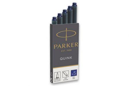 Inkoustové bombičky Parker ROYAL modré 5ks (do plnicích-plnících per PARKER)