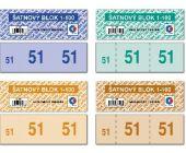 Šatnové bloky 1 - 100 čísel / ET290 / Baloušek tisk