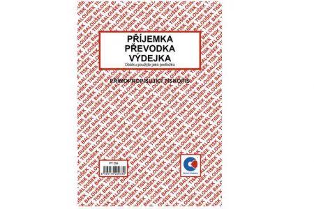 Příjemka - převodka - výdejka A5přímopropisující / PT235 / Baloušek tisk