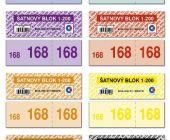 Šatnové bloky 1 - 200 čísel / ET295 / Baloušek tisk