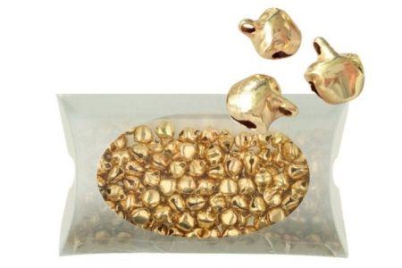 Rolničky miniaturní zlaté 7 mm 48g