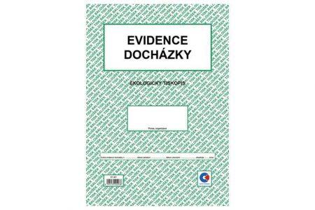 Evidence docházky A4  / ET407 / Baloušek tisk