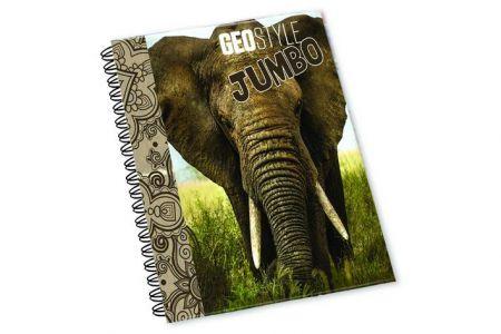Karton P+P Kroužkový blok A4 Jumbo slon vzor 2016