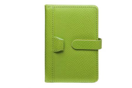 Zápisník zelený 105 x 145 x 15 mm 96 listů