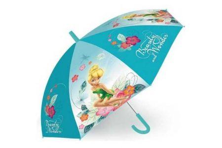 Deštník dětský Disney Fairies (délka 45cm / průměr 75cm)