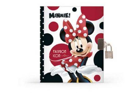 Diář A5 se zámkem Minnie (3-416) Karton P+P vzor 2013