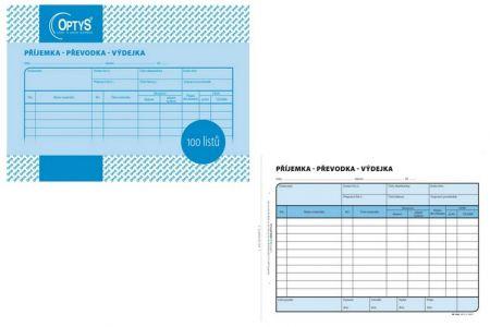 Příjemka -převodka-výdejka  A5 100 listů OPTYS
