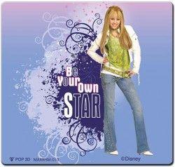 """CANPOL-Samolepka Disney magnet Hannah Montana ,,J"""" EAN: 5902814358771J"""