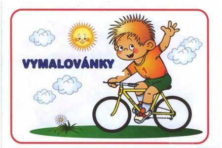 JIKO Omalovánka A5 kluk na kole