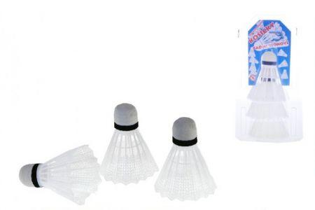 Košíčky na badminton 3ks
