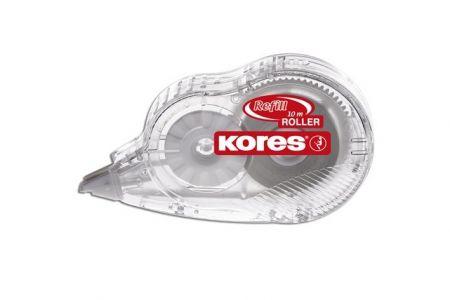 KORES Refill Roller s vyměnitelnou páskou 10 m x 4,2 mm