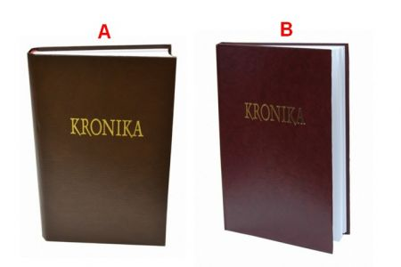 KOH-I-NOOR Kronika 100 listů hnědá,vínová,modrá,zelená,šedá Hospa