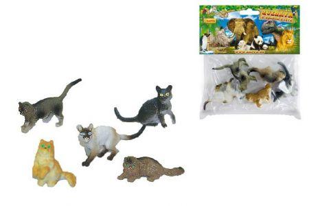 Kočky v sáčku 5 ks