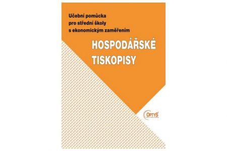Účební pomůcka pro střední školy Hospodářské tiskopisy OPTYS 1990