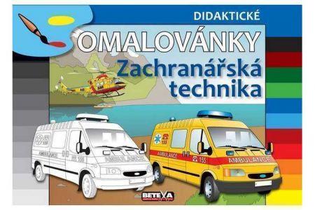 Omalovánky Záchranářská technika BETEXA didaktické