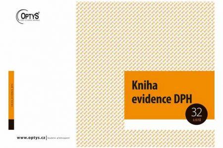 Kniha evidence DPH A4 OPTYS