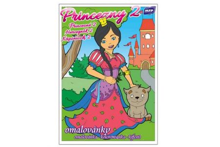 Omalovánky Princezny 2 A5