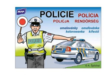 MFP Omalovánky Policie A5