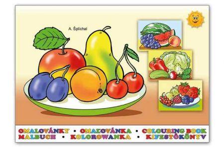 Omalovánky A5 Ovoce a zelenina