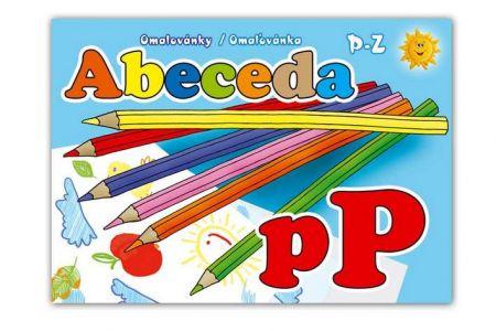 MFP Omalovánky Abeceda 3 A5  /P-Z