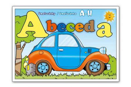 MFP Omalovánky Abeceda A5 A-H