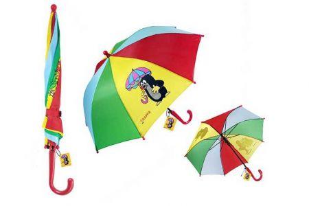 Deštník krtek 2 obrázky
