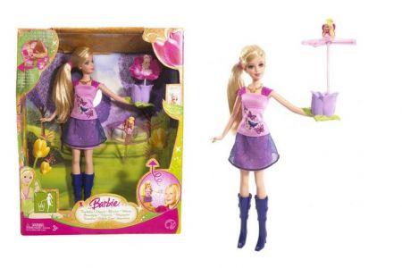 Barbie květina s vílou