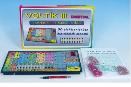 Voltík III. společenská hra na baterie v krabici 40x24,5x4,5cm