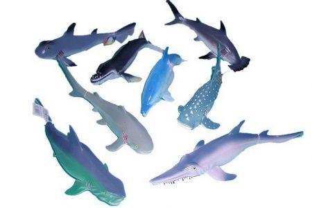 Zvířata mořská 23-31cm 8 druhů