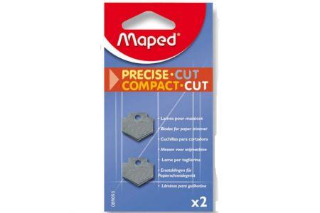 Náhradní břity pro řezačku Maped Compact Cut - 2 ks