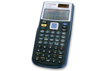 Kalkulačka vědecká CITIZEN SR-270X černá (kalkulátor vědecký školní černý)
