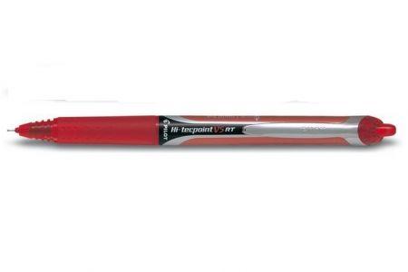 PILOT Kuličkové pero Hi-tecpoint V5 RT červené