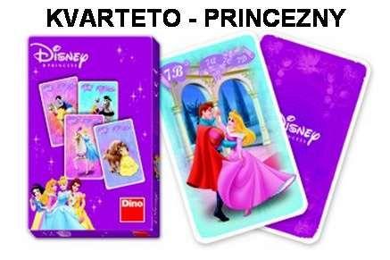 DINO-Karty kvarteto - Princezny