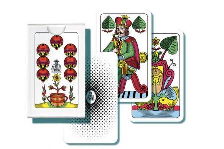 Mariáš-Dvouhlavé karty /32listů BONAPARTE