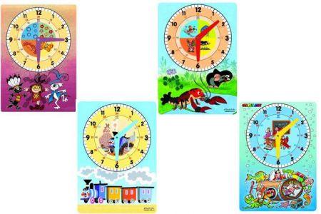 Výukové hodiny různé motivy A4 (družené)