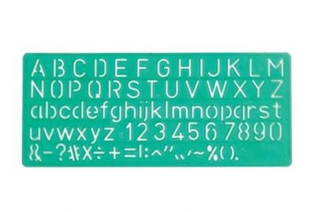 Šablona Linex 8510 plast